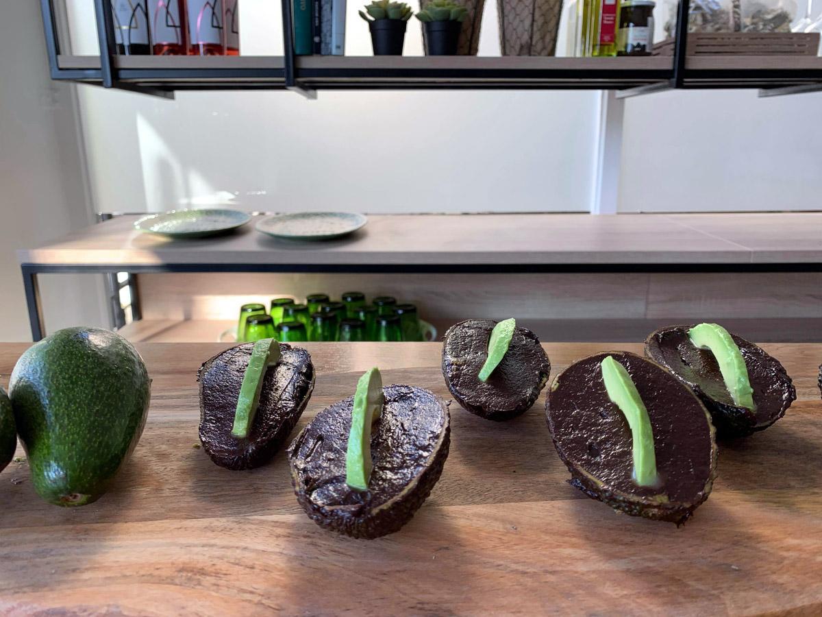 Μους σοκολάτας με αβοκάντο
