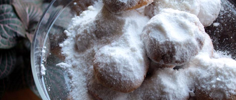 κουραμπιεδες με λιγοερη ζαχαρη
