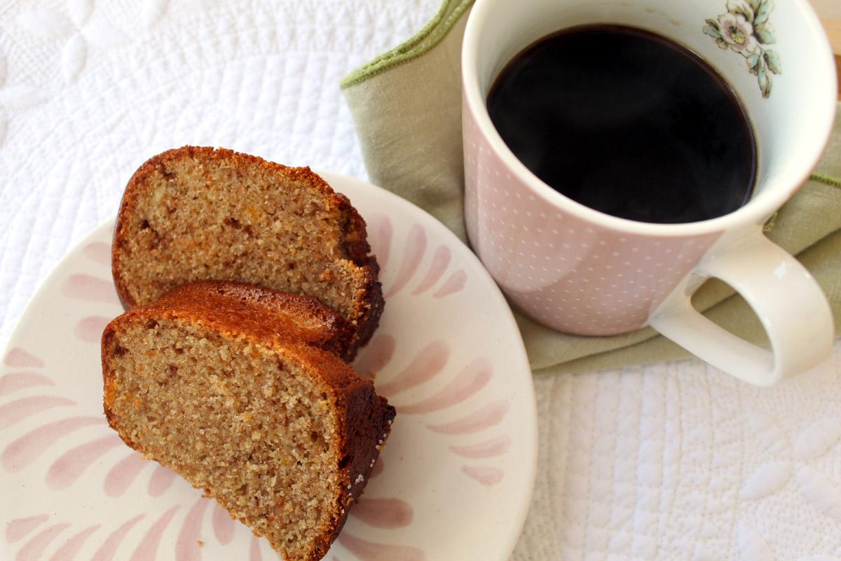 Κέικ ολικής με μαύρη σοκολάτα και πορτοκάλι