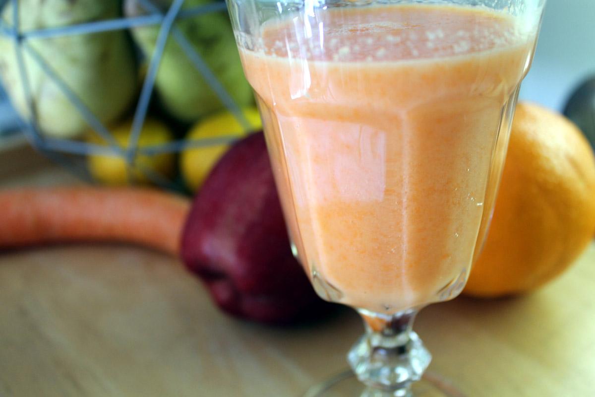 Smoothie καρότο κεφίρ