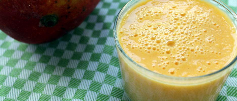 επιδόρπιο με μάνγκο