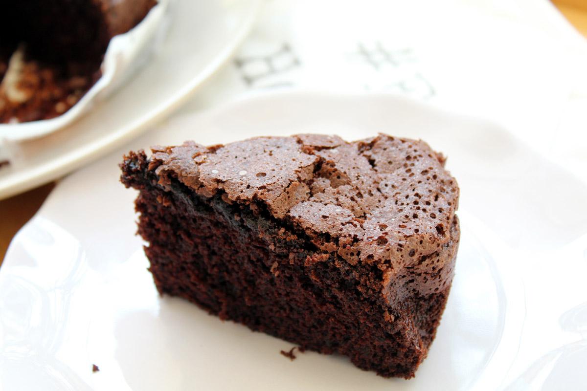 Κέικ σοκολάτας με ελαιόλαδο