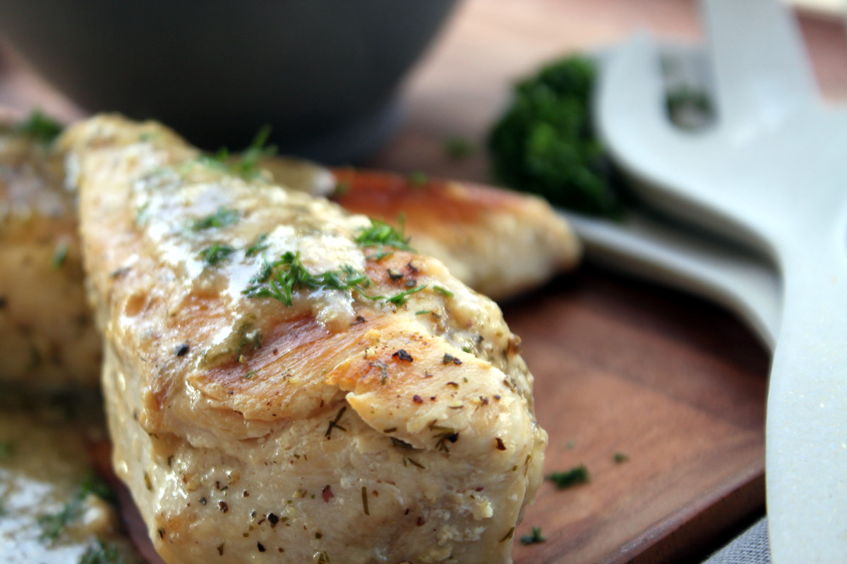 Φιλέτο κοτόπουλου με λεμόνι και άνηθο