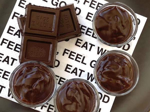 Κρέμα σοκολάτας χωρίς ζάχαρη