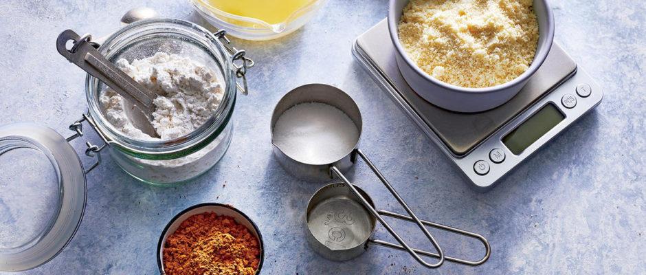 Αντιστοιχίες όγκου βάρους στις συνταγές μαγειρικής.