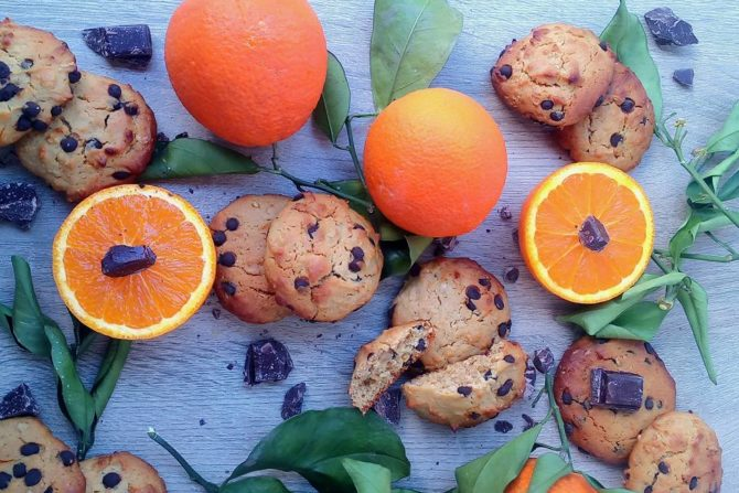 Cookies χωρίς ζάχαρη, νηστίσιμα από την Ελπίδα Χαραλαμπίδου.