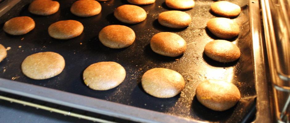 μπισκότα ολικής με καστανή ζάχαρη