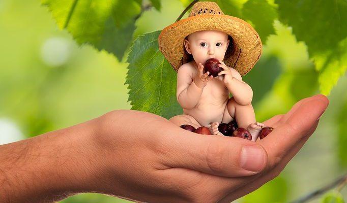 Μαθαίνουμε τα παιδιά να τρώνε υγιεινά