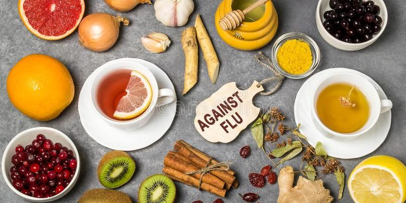 Διατροφή κατά της γρίπης