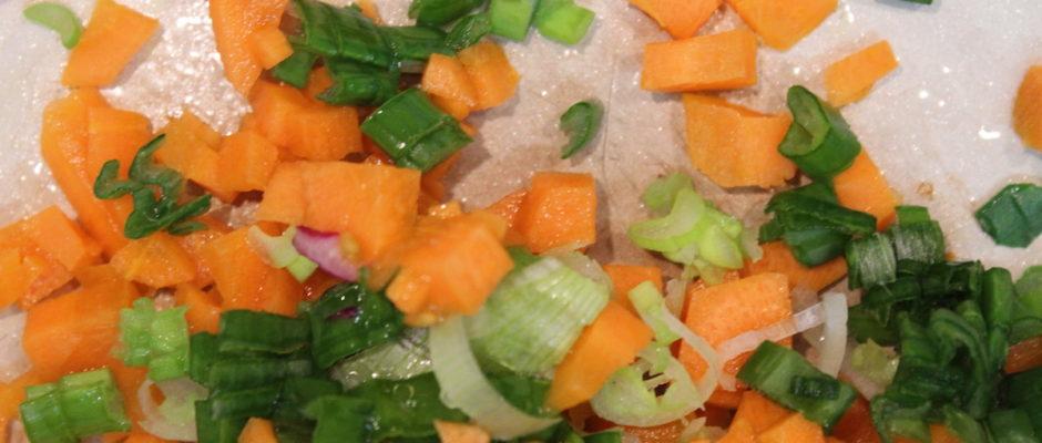 σαλάτα με παντζάρια και καρότα