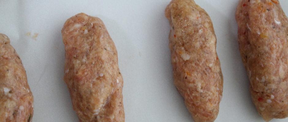 Σουτζουκάκια κοτόπουλου