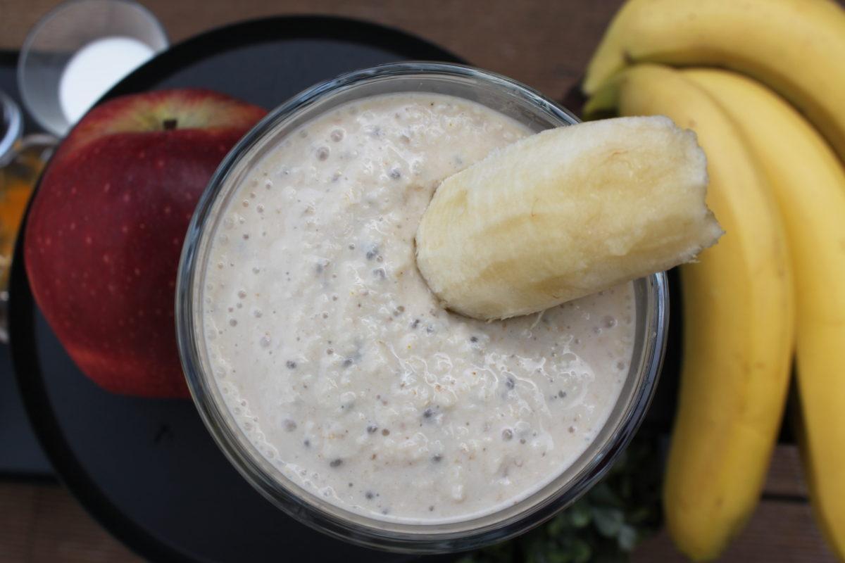Smoothie με μπανάνα της Μαρίας Παγωνάκη