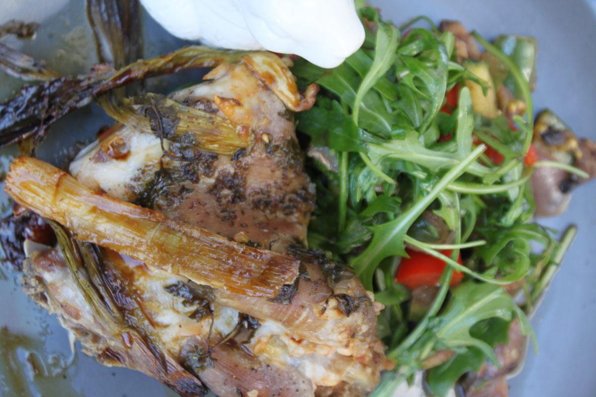 Πασχαλινό κατσικάκι στον φούρνο