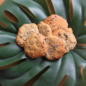 Μαλακά μπισκότα με μπανάνα και σοκολάτα