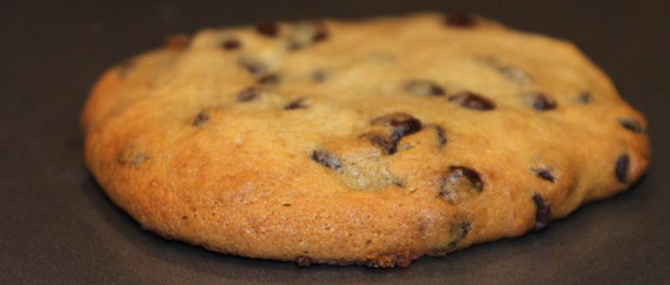 μαλακά μπισκότα μπανάνα σοκολάτα