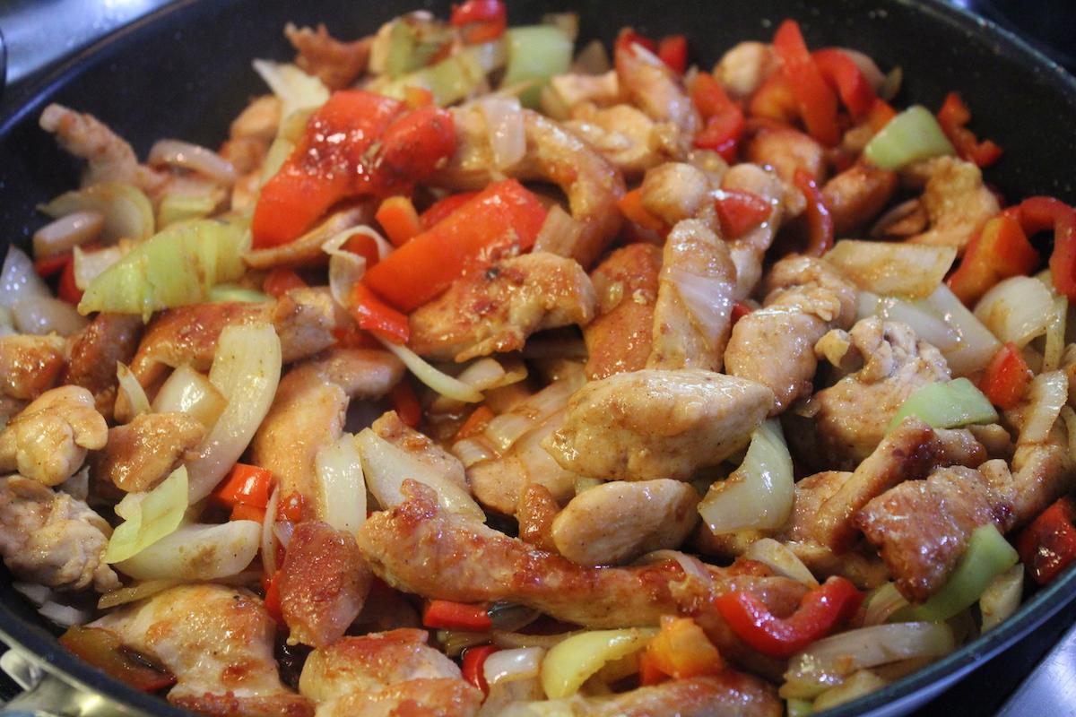 Μεξικάνικο κοτόπουλο