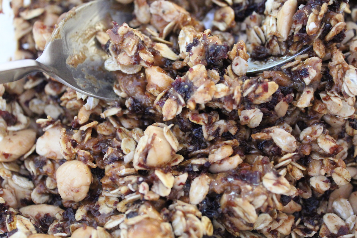 σπιτική granola