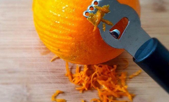 Κέικ πορτοκάλι με γιαούρτι και αμύγδαλα
