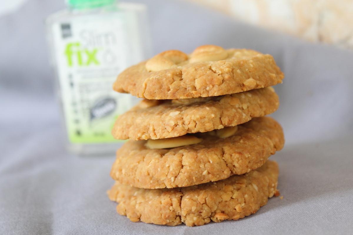 Cookies με κάσιους και στέβια