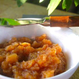μαρμελάδα με αχλάδι
