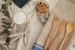 δημητριακά πρωινού με βρώμη, λιναρόσπορο και σταφίδες