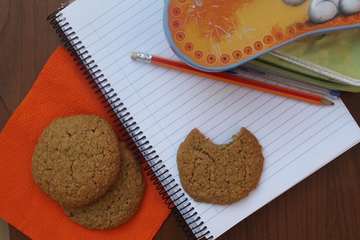 cookies βρώμης με κανέλα