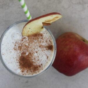 μηλόπιτα σε smoothiie