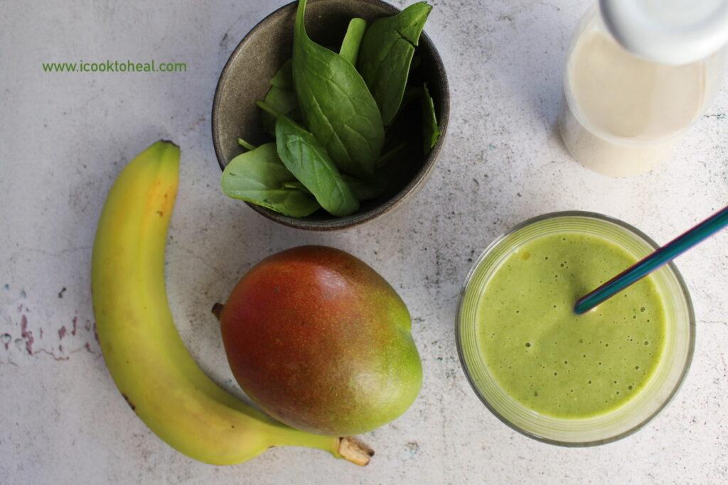 Vegan smoothie για ενέργεια