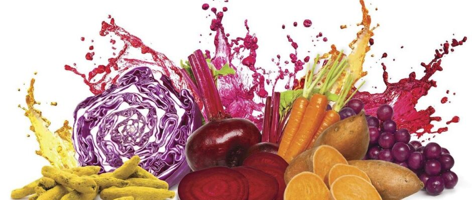 Φυτικές βαφές τροφίμων