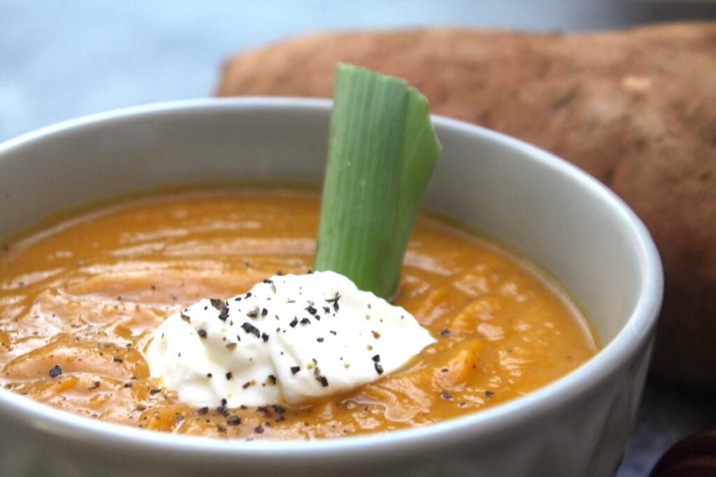σούπα γλυκοπατάτας