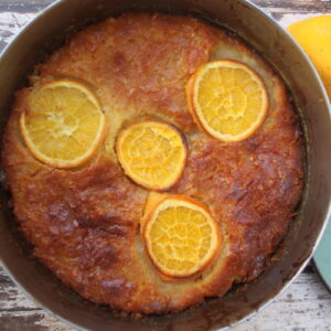 Ελαφριά πορτοκαλόπιτα