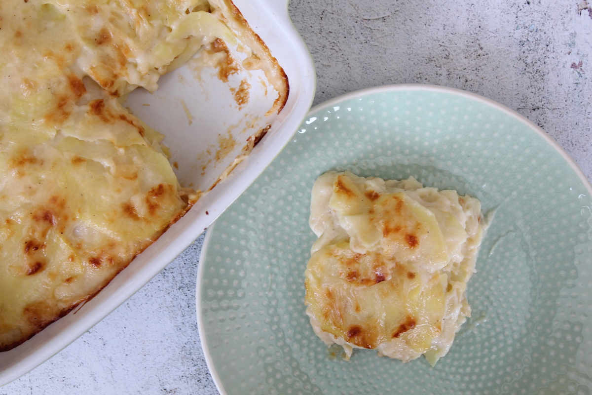 Πατάτες ογκρατέν με λίγα λιπαρά