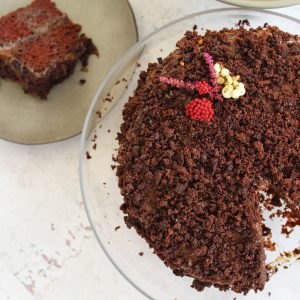 Vegan τούρτα σοκολάτας